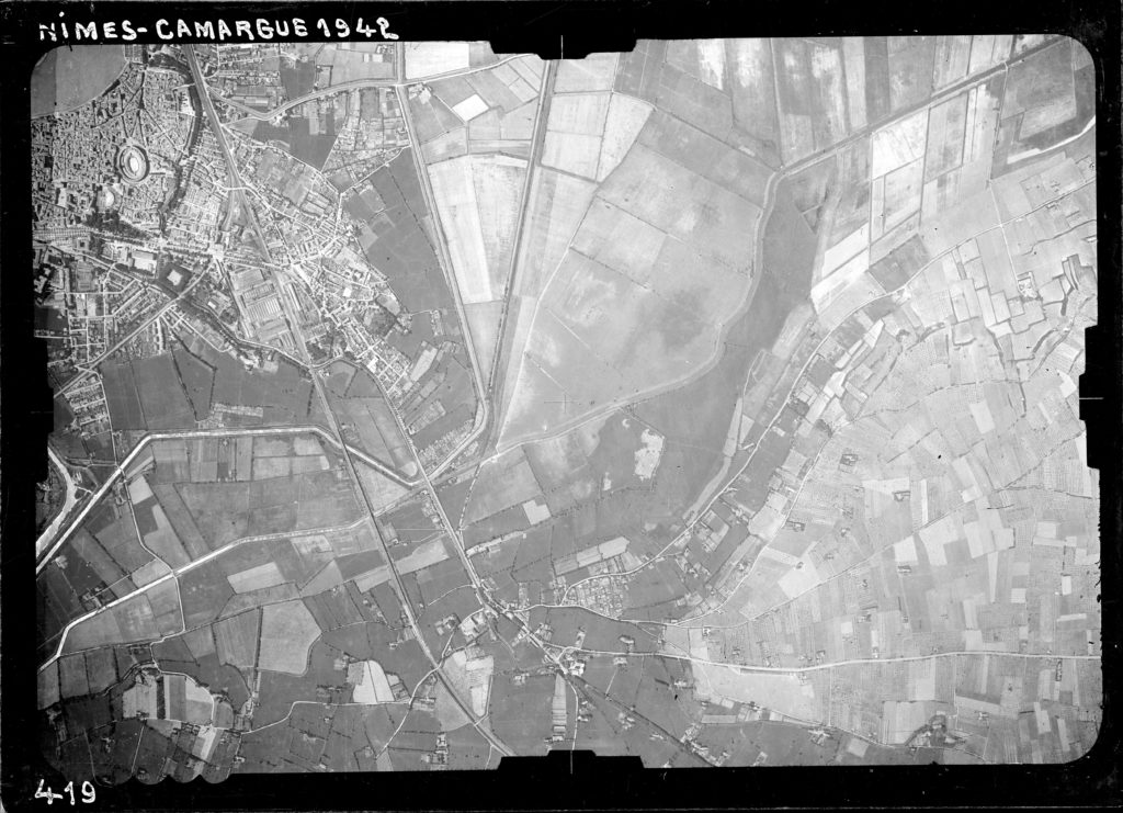 Arles quartier Pont de Crau